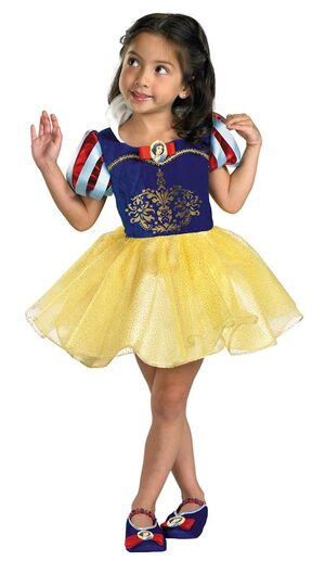 Kids Disney Snow White Toddler Ballerina Costume
