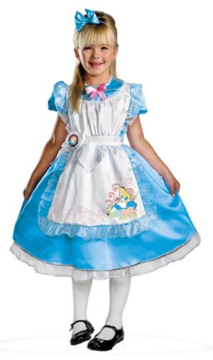 Disney Alice in Wonderland Kids Costume