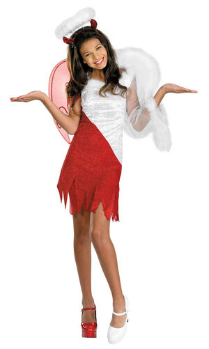 Tween Girls Sassy Heavenly Devil Costume
