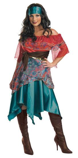 Womens Bohemian Babe Gyspy Costume