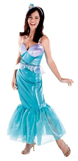 Disney Adult Little Mermaid Costume