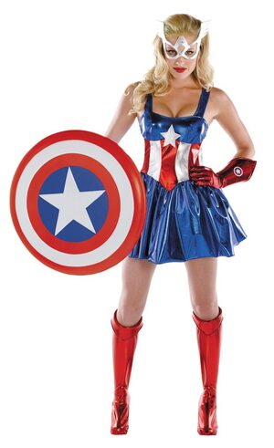 Womens Sassy Adult American Dream Costume