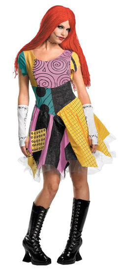 Nightmare Before Christmas Adult Sassy Sally Costume