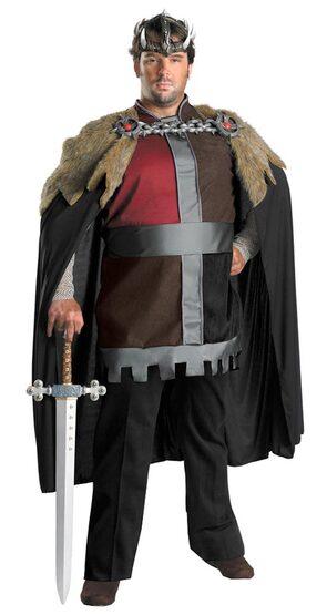 Mens Celtic King Plus Size Costume