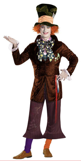 Mens Prestige Adult Mad Hatter Costume