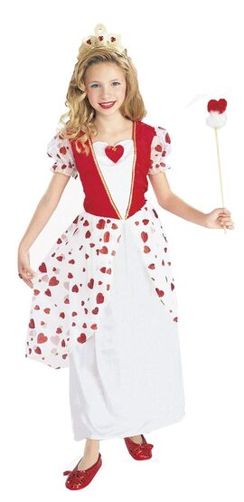 Girls Sweetheart Princess Kids Costume