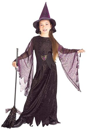 Girls Mystical Witch Kids Costume
