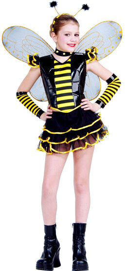Girls Sassy Queen Bee Costume