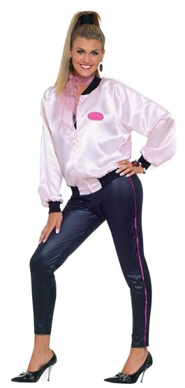 Womens Pink Lady Adult 50s Costume