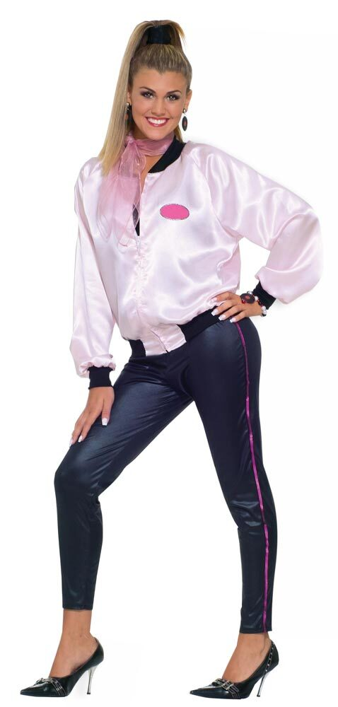 Womens Pink Lady Adult 50s Costume  sc 1 st  Mr. Costumes & Womens Pink Lady Adult 50s Costume - Mr. Costumes