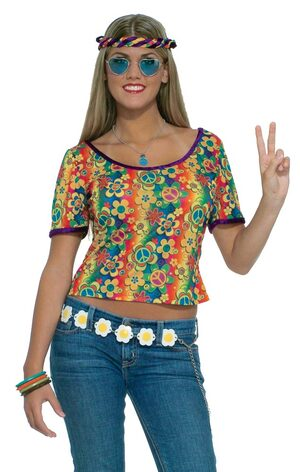 Womens Sexy Hippie Shirt