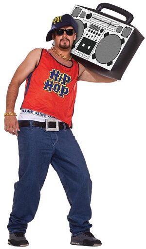 Old School Hip Hop Home Boy Adult Costume