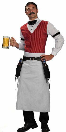 Adult Bartender Mens Western Costume