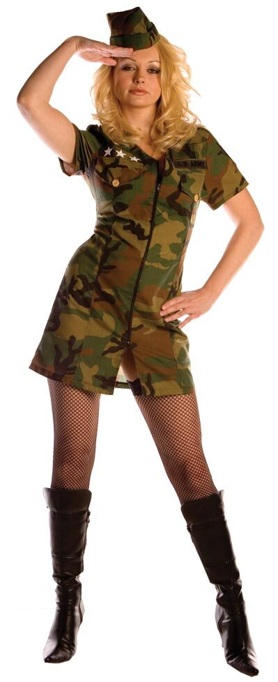 Womens Surrender Sexy Army Costume  sc 1 st  Mr. Costumes & Womens Surrender Sexy Army Costume - Mr. Costumes