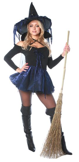 Amethyst the Sexy Witch Costume