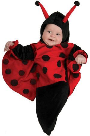 Ladybug Bunting Baby Costume