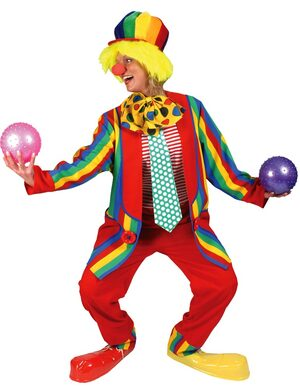 Adult Paddy Whack Clown Costume