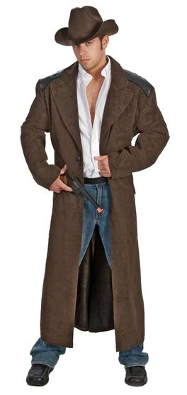 Western Dust em Dude Mens Cowboy Costume