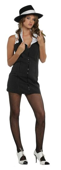 Bonnie 1920s Sexy Gangster Costume