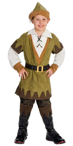 Boys Robin Hood Kids Costume