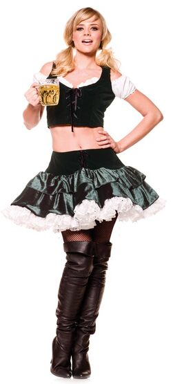 Sexy Fraulein German Beer Girl Costume