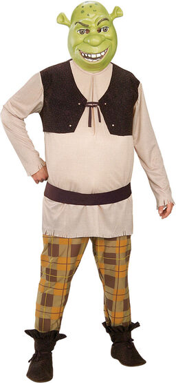 Deluxe Adult Mens Shrek Costume