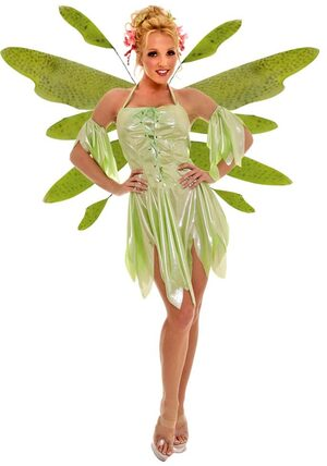 Nymph the Sexy Green Fairy Costume