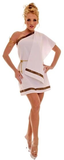 Womens Sexy Toga Costume