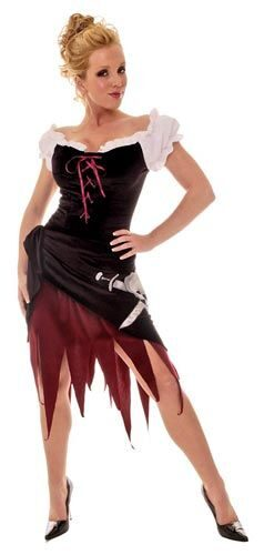 Womens Sexy Pirate Wench Costume