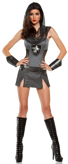 Sexy Medieval Joan of Anarchy Costume