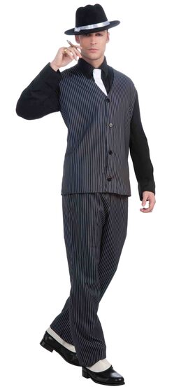 Mens 1920's Gangster Suit Adult Costume