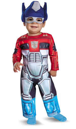 Optimus Prime Rescue Bot Transformers Baby Costume