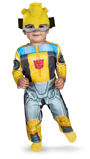 Bumblebee Rescue Bot Transformers Baby Costume