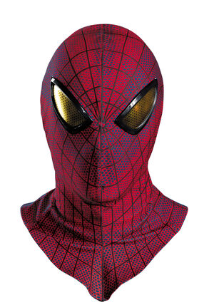 Adult Deluxe Amazing Spiderman Mask