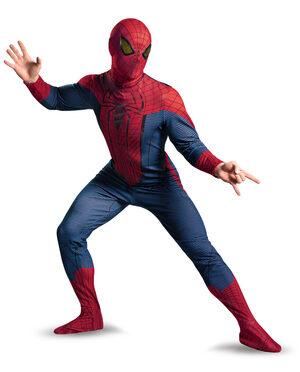 Deluxe Amazing Spiderman Adult Costume