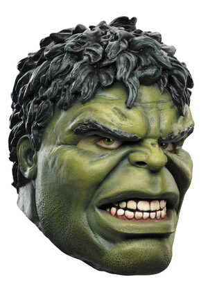 Adult Deluxe Hulk Latex Mask