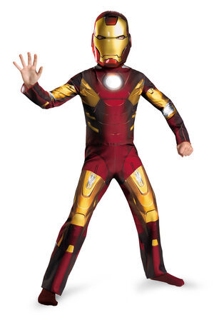 Boys Iron Man Avengers Kids Costume