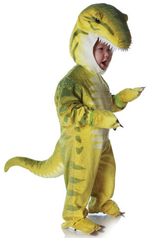 Toddler Green T-Rex Dinosaur Baby Costume