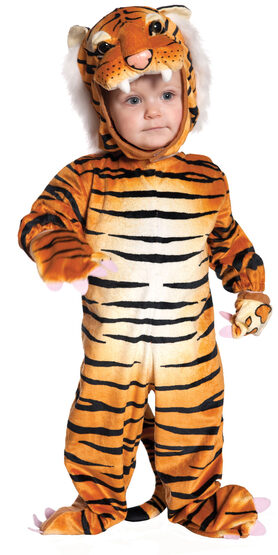 Toddler Orange Tiger Kids Costume