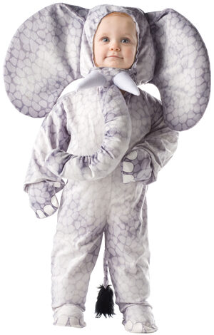 Toddler Gray Elephant Kids Costume