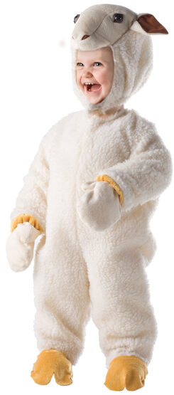 Fuzzy Little Lamb Kids Costume