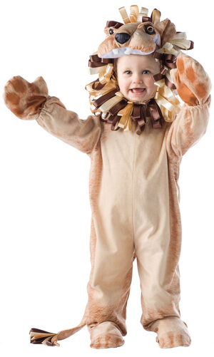 Boys Funny Lion Kids Costume