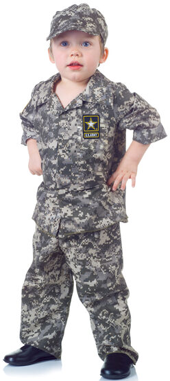 Toddler US Army Camo Set Kids Costume