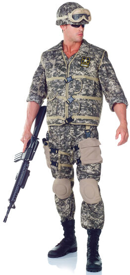 Mens US Army Ranger Deluxe Adult Costume