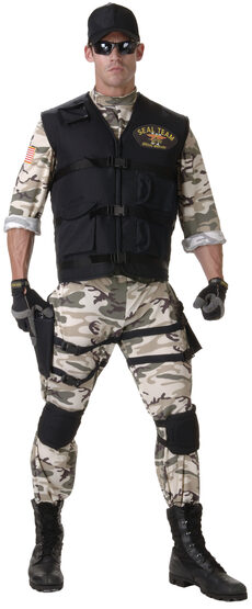 Mens SEAL Team Adult Costume