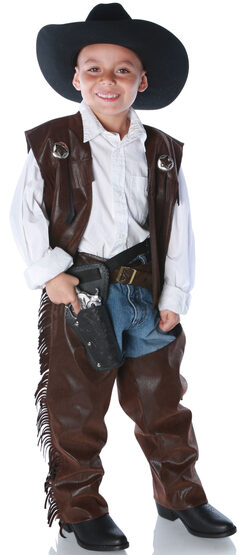 Rough n Tough Cowboy Chaps Kids Costume