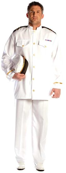 Mens Admiral Sailor Costume