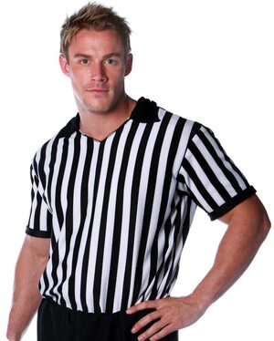 Adult Mens Referee Costume