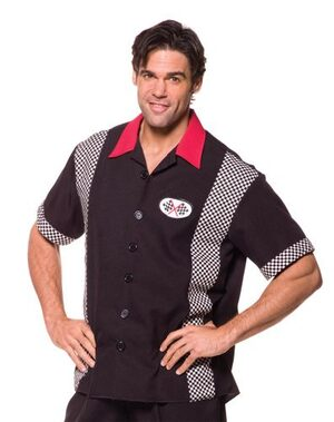 Mens Pit Crew Race Costume