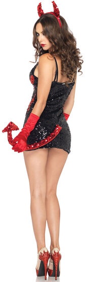 Sexy Demon Darling Red Devil Costume